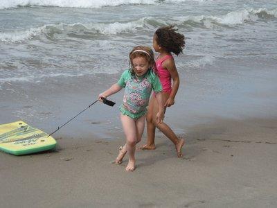 On the Beach with Zoe