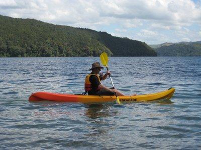 Kayaking Rotorua