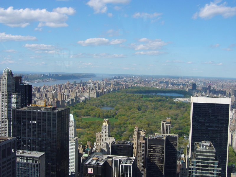 Central Park & Manhattan from the Rock!