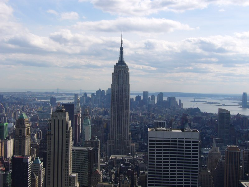 Empire State from the Rock!