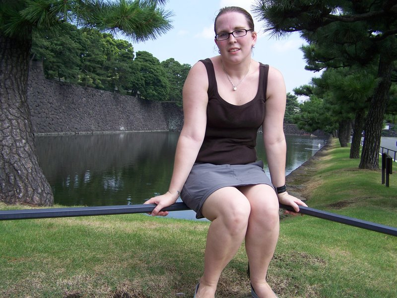 Me at the Imperial gardens