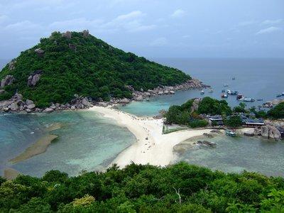 One last shot of Nangyuan Island