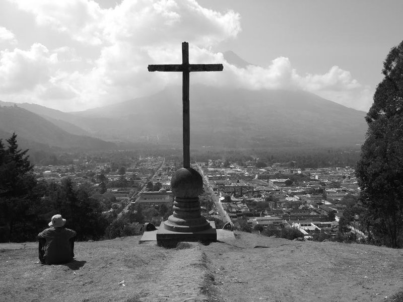 Antigua from the cross