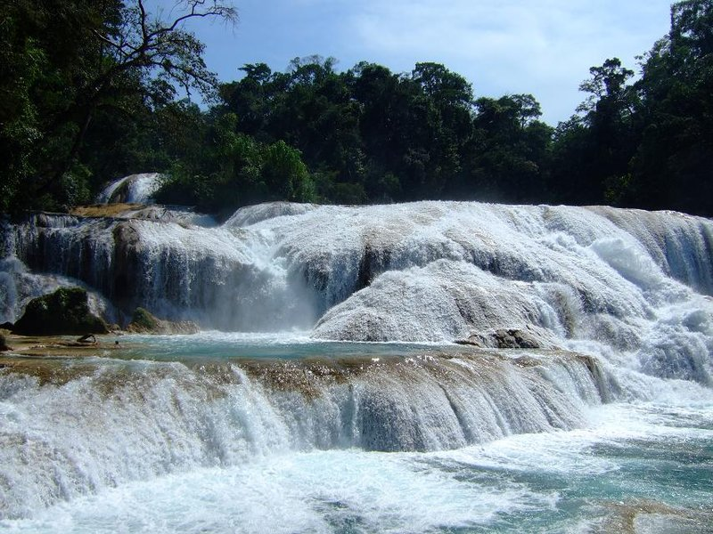 Waterfalls at Agua Azul