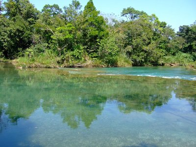 River at Agua Azul