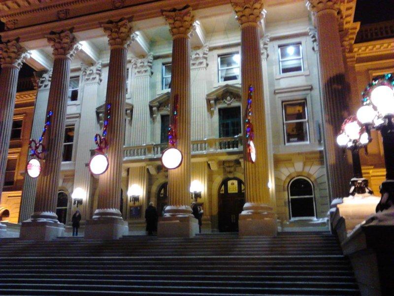 Legislature in Edmonton