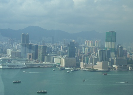 Kowloon from Bank of China Building