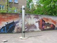 Vilnius - Frank Zappa monument