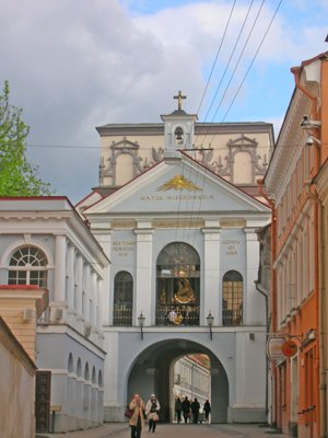 Vilnius - St Theresa's and the relic