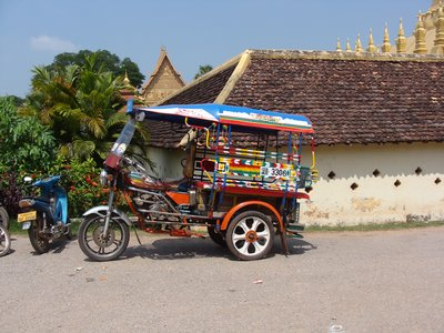 Samlor in Vientiane