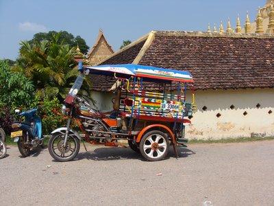 Samlor in Vientiane