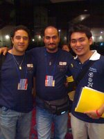 Egyptian colleagues