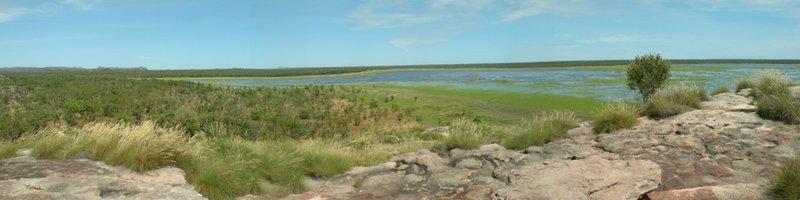Ubirr - Stunning 360 view - Wetlands