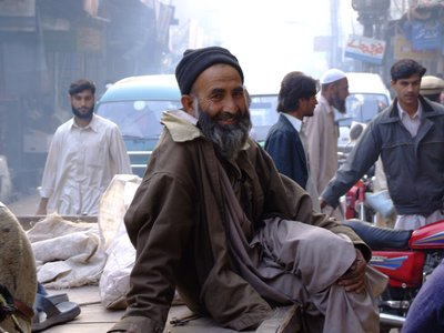 Smile man in Peshawar