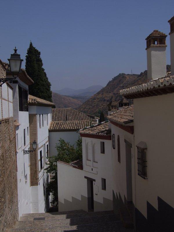 Town lanes in Granada