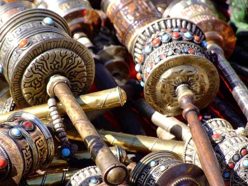 Prayer Wheels from Nepal