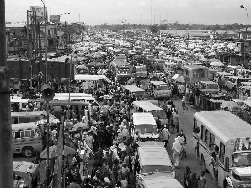 Lagos, Nigeria - Traffic