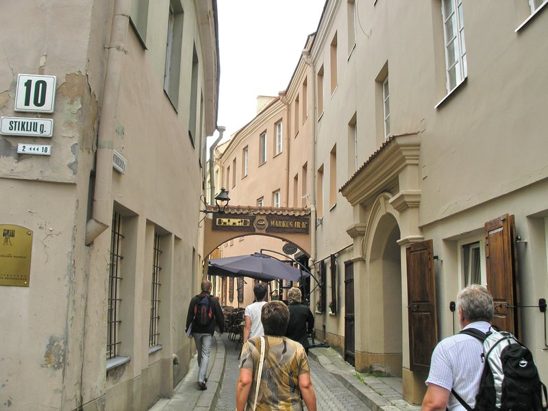 City Center small streets