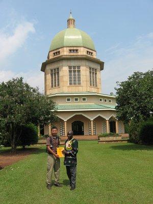 Temple in Kampala