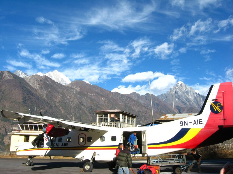 Arrival to Lukla