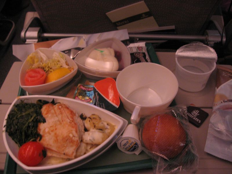 Food on Emirates Airlines