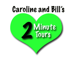 Two Minute tours -green logo