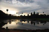 Sunrise an Angkor Wat