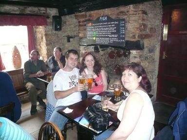 castle inn group shot