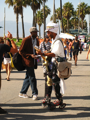 Guitar Man, Muscle Beach, LA