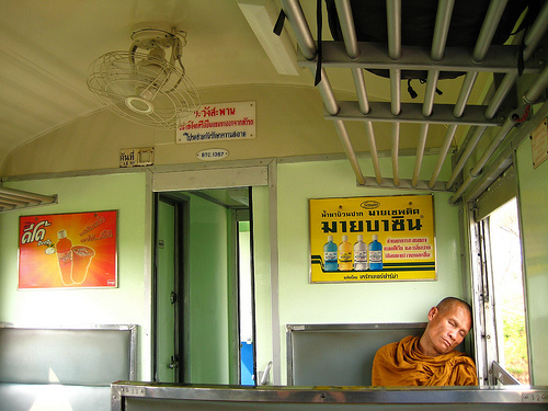 Tired Monk