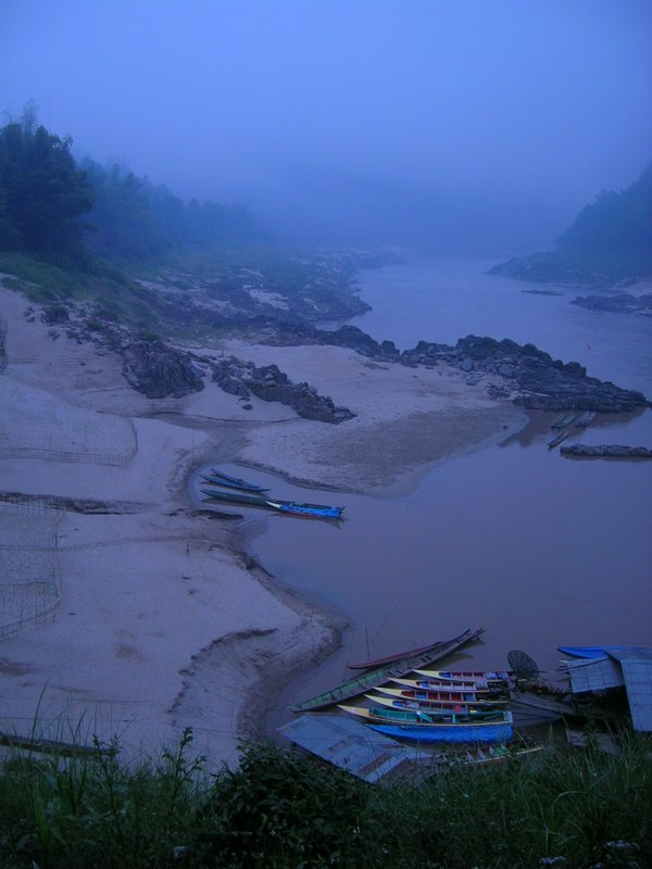Dawn on the Mekong