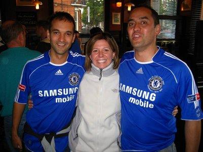 Chelsea soccer fans