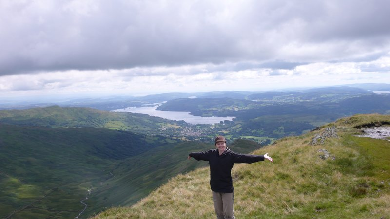 The top of High Pike
