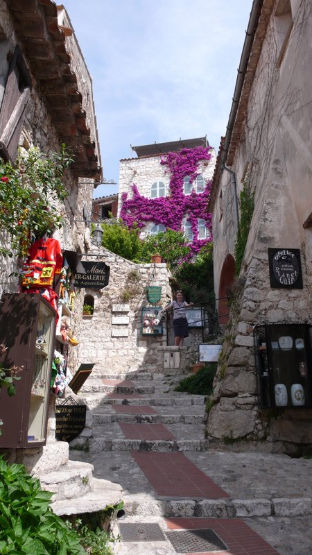 The lovely village of Eze