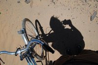 The bicycle I use and Shadow