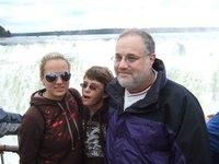 The Travellers at Iguassu Falls