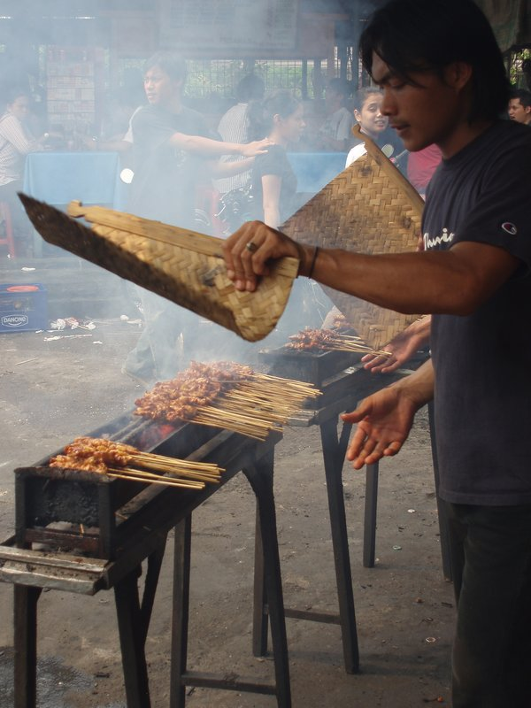 Satay Vendor
