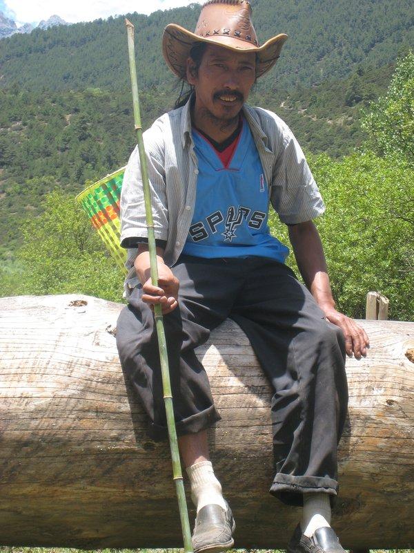 Tibetan Cowboy