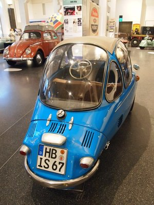 Heinkel & VW from the Cars of the German Miracle exhibition