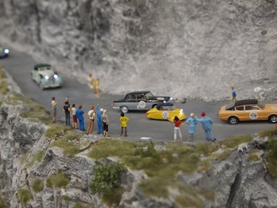 Miniature world Mille Miglia