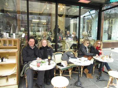 Brunch at Les Deux Magots