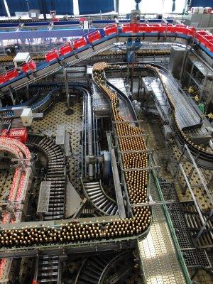 Budweiser factory
