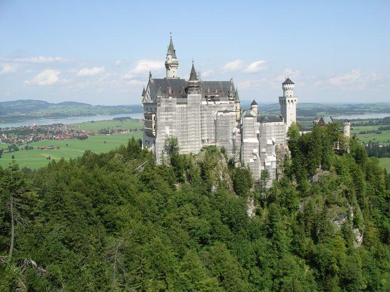 Castle Neuschwanstien 2