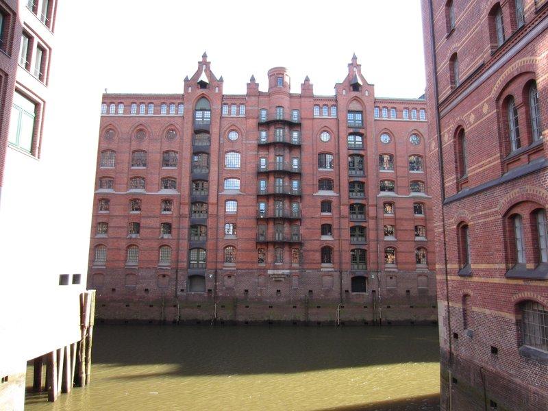 Hamburg warehouses