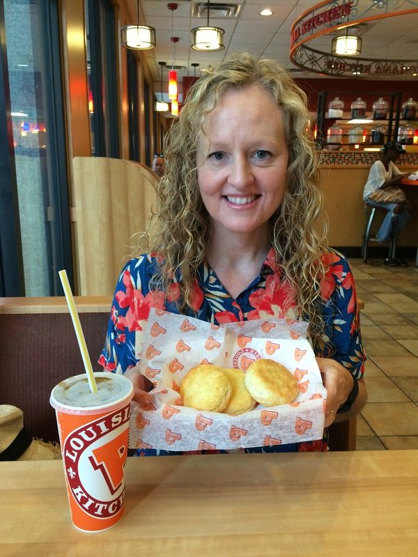 Popeyes biscuits are the best