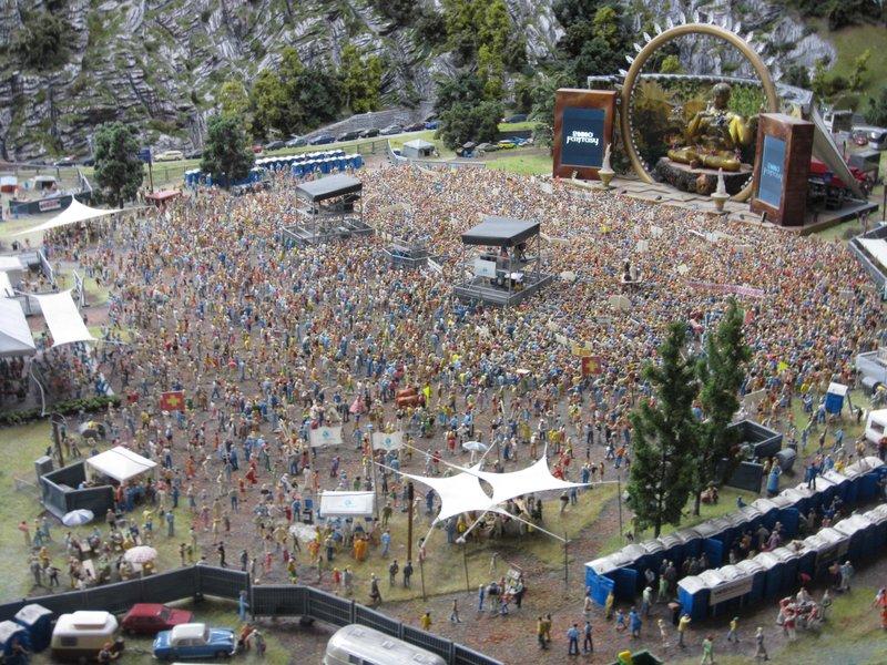 Miniature world festival