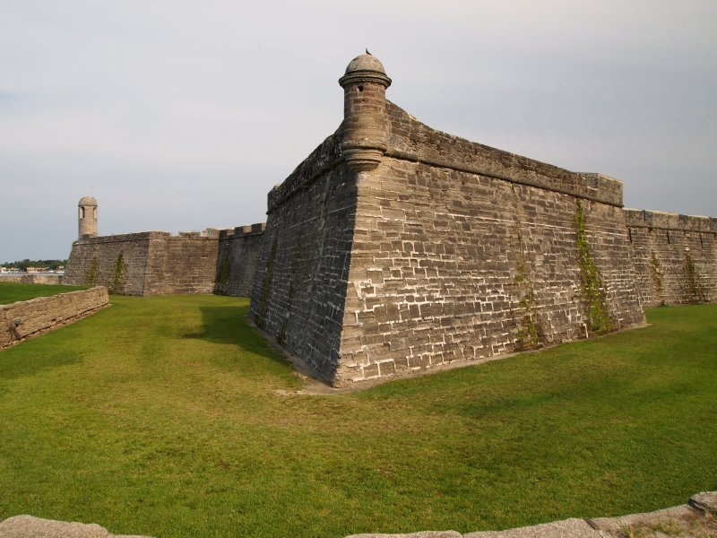 Castle at St Augustine