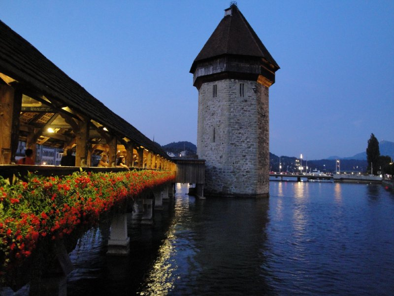 Lucerne water tower