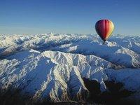 Luftballon over Queenstown
