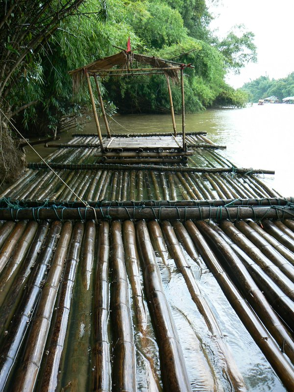 ...and this was the 'floating raft'..i reiterrate-FLOATING!!!